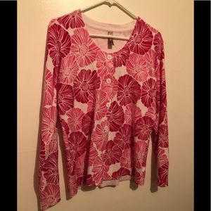 Ladies Floral Cardigan